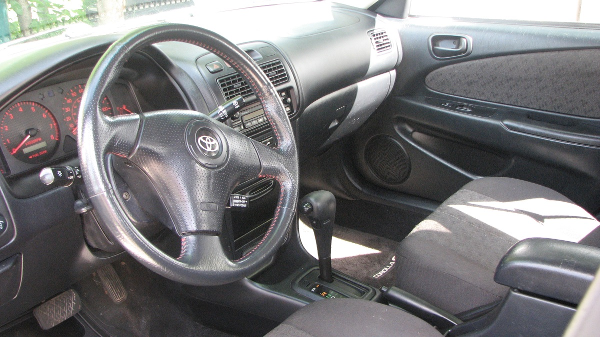 Toyota Corolla Interior Top Im With 2001 Engine Beautiful S Always Look Pretty Good Well Mine Is Nicer Lol