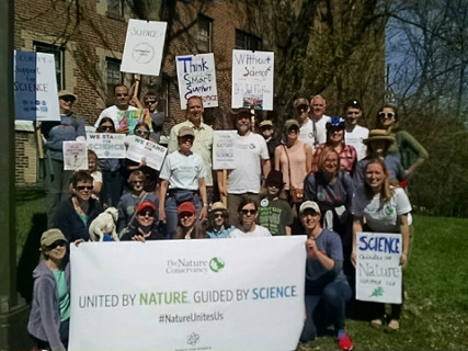 ScienceMarch StPaul the whole TNC group