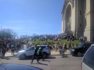 ScienceMarch St.Paul premarch at church
