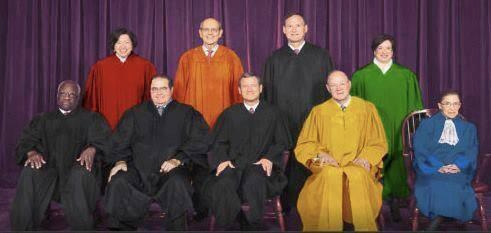 supreme court justices on marriage equality ruling