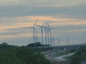 wind generators in Iowa