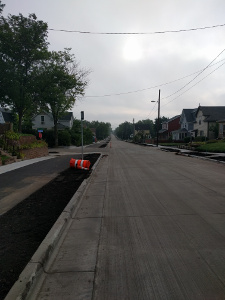26th Street reconstruction in Minneapolis
