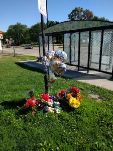 memorial at Penn and Lowry in Jordan of Minneapolis
